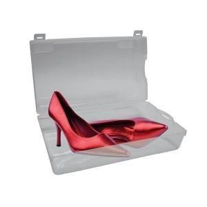 Bo te chaussures en plastique transparent achat vente housse habit ch - La boite a chaussures ...