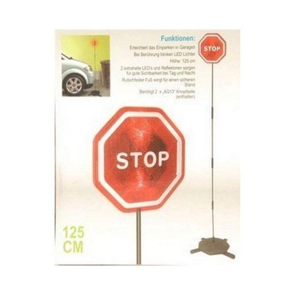 Panneau de signalisation stop a leds aide au achat for Arret voiture garage