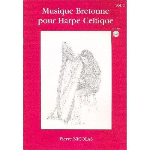 musique bretonne pour harpe celtique vol 2 cd pas cher achat vente partition cdiscount. Black Bedroom Furniture Sets. Home Design Ideas