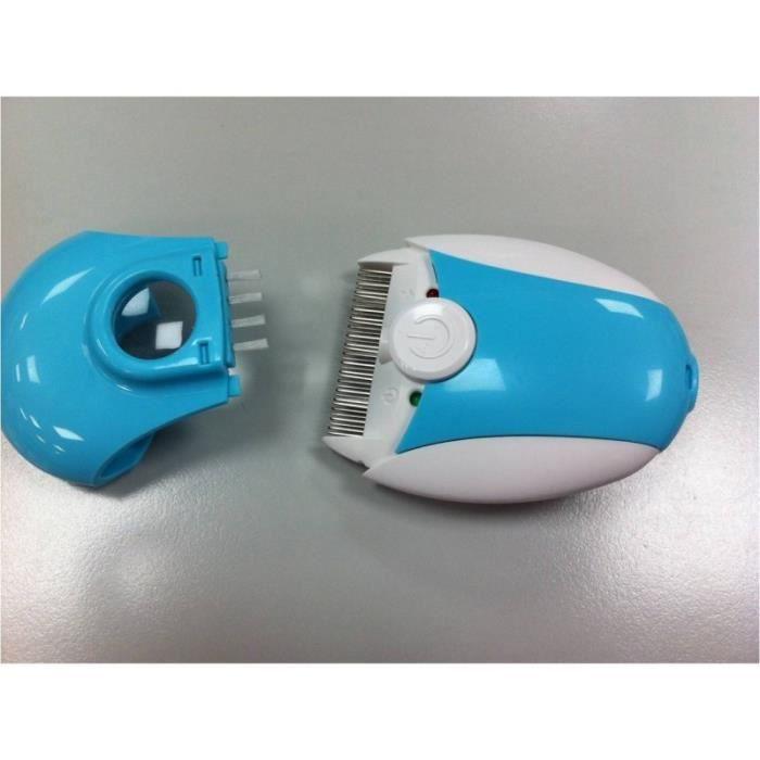 Peigne electrique anti poux lbs medical achat vente for Salon de coiffure anti poux