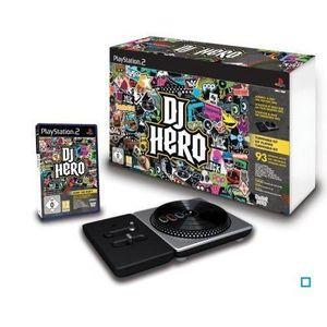 JEU PS2 DJ HERO / JEU ET ACCESSOIRE CONSOLE PS2