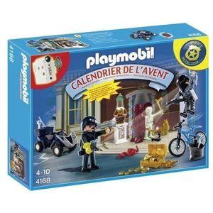 PLAYMOBIL 4168 Calendrier de l'Avent Policier