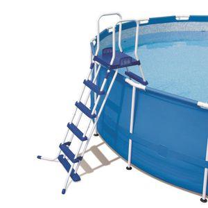 echelle pour piscine hors sol achat vente echelle pour piscine hors sol pas cher cdiscount. Black Bedroom Furniture Sets. Home Design Ideas