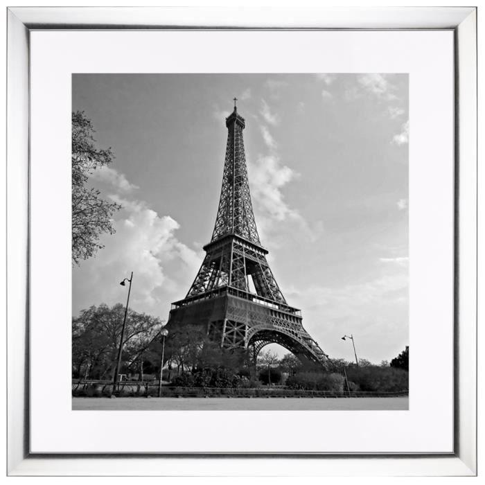 Image encadr e krome paris 50x50 cm achat vente for Image encadree decoration