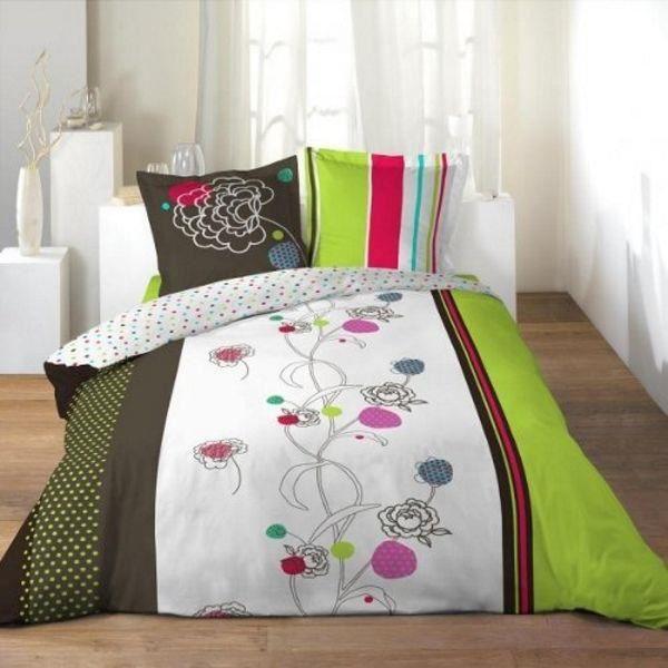 parure drap plat drap housse 2 taies d oreiller microfibre zao 100 polyester di achat. Black Bedroom Furniture Sets. Home Design Ideas