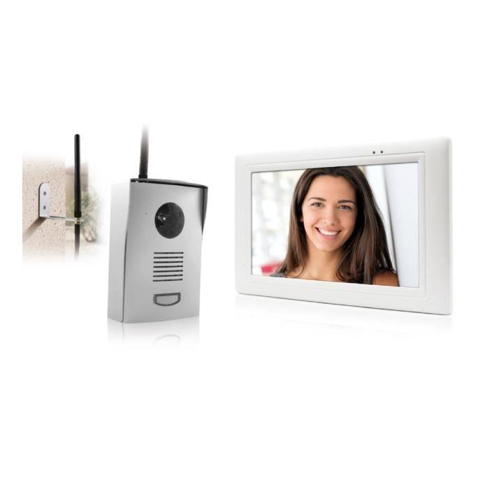 thomson visiophone couleur sans fil 7 tactile avec. Black Bedroom Furniture Sets. Home Design Ideas