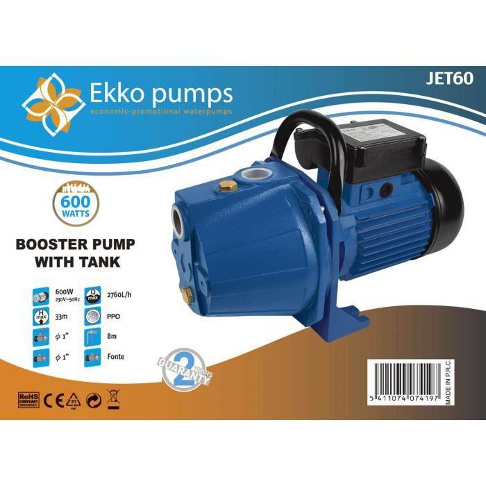 Pompe A Eau De Surface Electrique 600w 2 7 M3 H Achat