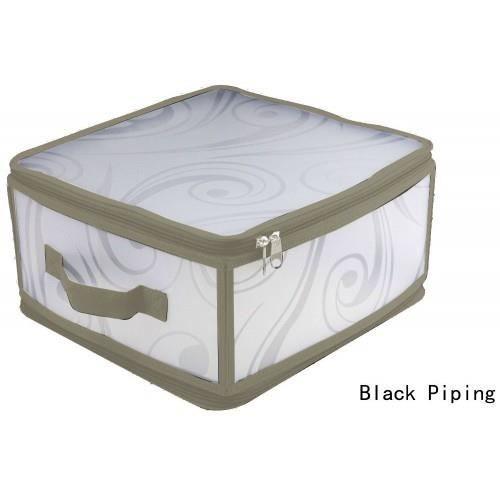 boite rangement pliable 40x30 taupe achat vente boite de rangement plastique toile cdiscount. Black Bedroom Furniture Sets. Home Design Ideas