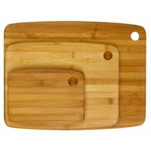 paris prix set de 3 planches d couper bambou achat vente planche a d couper paris prix. Black Bedroom Furniture Sets. Home Design Ideas