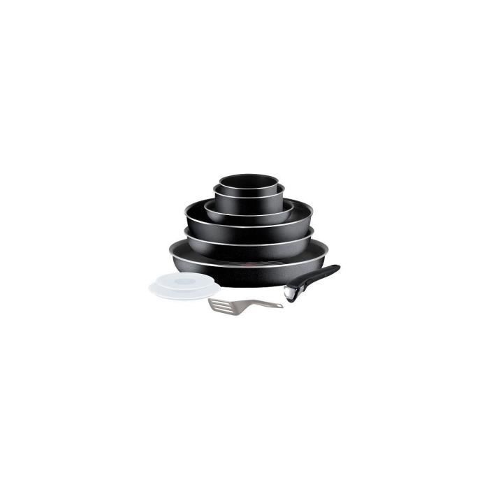 Set tefal ingenio essential noir 10 pi c achat vente - Tefal ingenio5 set 10 pieces noir ...