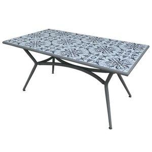 Table jardin ceramique achat vente table jardin - Table ceramique jardin ...