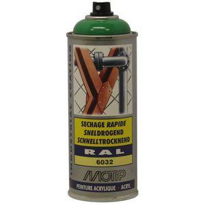 PEINTURE AUTO Peint acryliq séch rapide Vert Signal RAL 6032