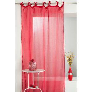 Rideaux rouge lin achat vente rideaux rouge lin pas - Rideaux grande hauteur 300 ...