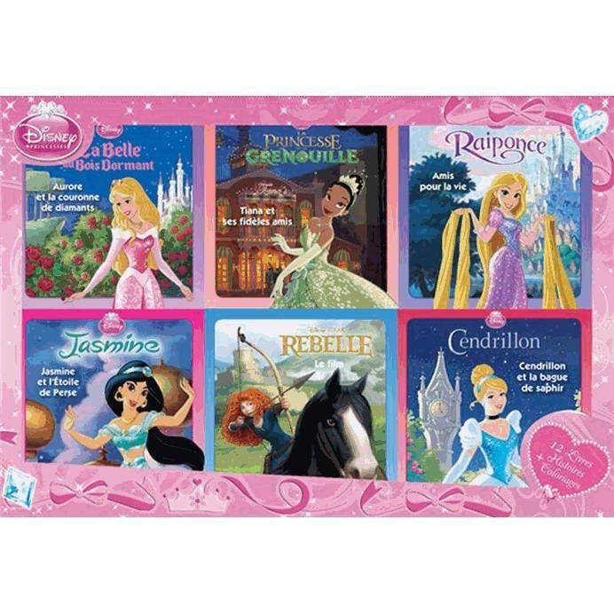 Coffret Dvd Disney Princesse Coffret Disney Princesses