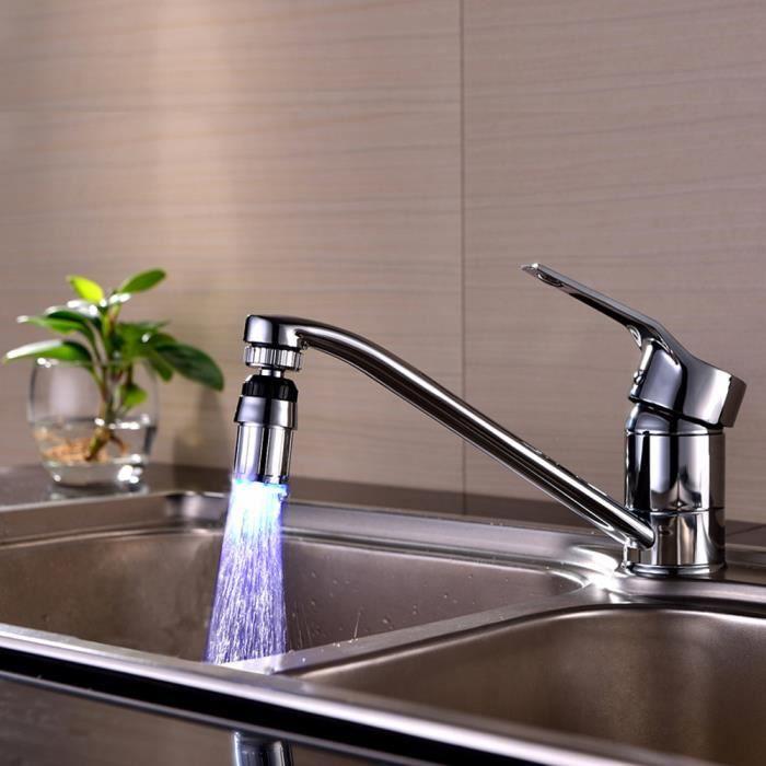 Vier de cuisine 7color changer l 39 eau de lueur d 39 eau - Changer robinet de cuisine ...