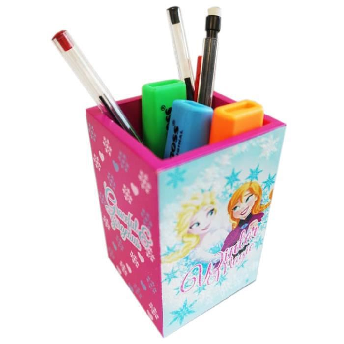 pot stylos frozen achat vente pot crayon pot stylos frozen soldes cdiscount. Black Bedroom Furniture Sets. Home Design Ideas