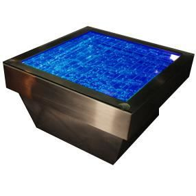 Table basse fontaine rgb achat vente table basse - Fontaine de table ...