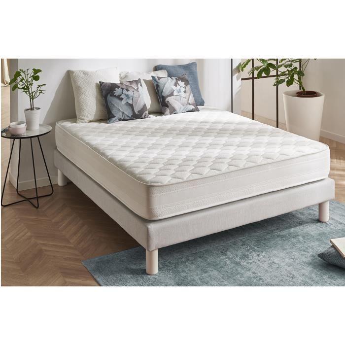 matelas deluxe 180x200 blue latex mousse a m moire de forme 3701129922859 achat vente. Black Bedroom Furniture Sets. Home Design Ideas