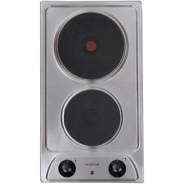 California de 302 x 1 achat vente plaque lectrique cdiscount - Plaque chauffante electrique ...
