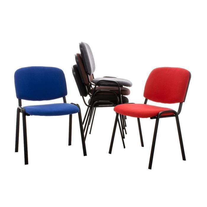 Clp 6x chaise de visiteurs empilable ken co t abordable for Clp annex 6 table 3 1