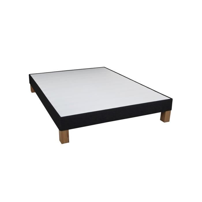 Sommier dunlopillo ambiance anthracite 160x200 achat vente sommier sold - Sommier dunlopillo 160x200 ...