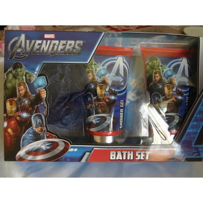 coffret de bain avengers achat vente coffret cadeau corps coffret de bain avengers cdiscount. Black Bedroom Furniture Sets. Home Design Ideas