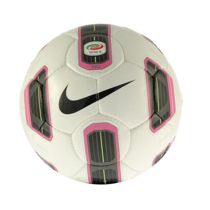 Nike ballon de foot t90 catalyst serie a t5 achat vente ballon balle ni - Ballon de foot noir et blanc ...