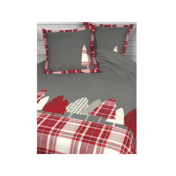 housse de couette 260x240 pralognan bordeaux achat vente housse de couette cdiscount. Black Bedroom Furniture Sets. Home Design Ideas