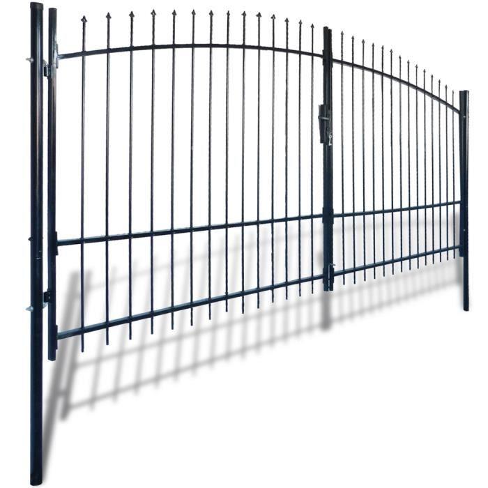 Portail battant 4 m achat vente portail battant 4 m pas cher les soldes sur cdiscount - Portail battant 1 porte ...