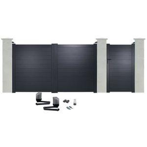 Pilier de portail achat vente pilier de portail pas for Portail electrique avec portillon