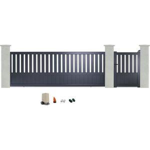 fermeture portail coulissant achat vente fermeture portail coulissant pas cher cdiscount. Black Bedroom Furniture Sets. Home Design Ideas