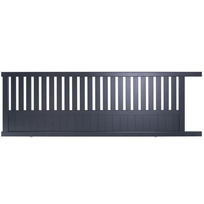 autour du portail portail coulissant en aluminium baya 3 5 m manuel achat vente portail. Black Bedroom Furniture Sets. Home Design Ideas