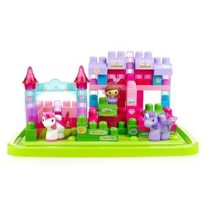ASSEMBLAGE CONSTRUCTION MEGA BLOKS First Builders Lil'Princess - Baril Lic