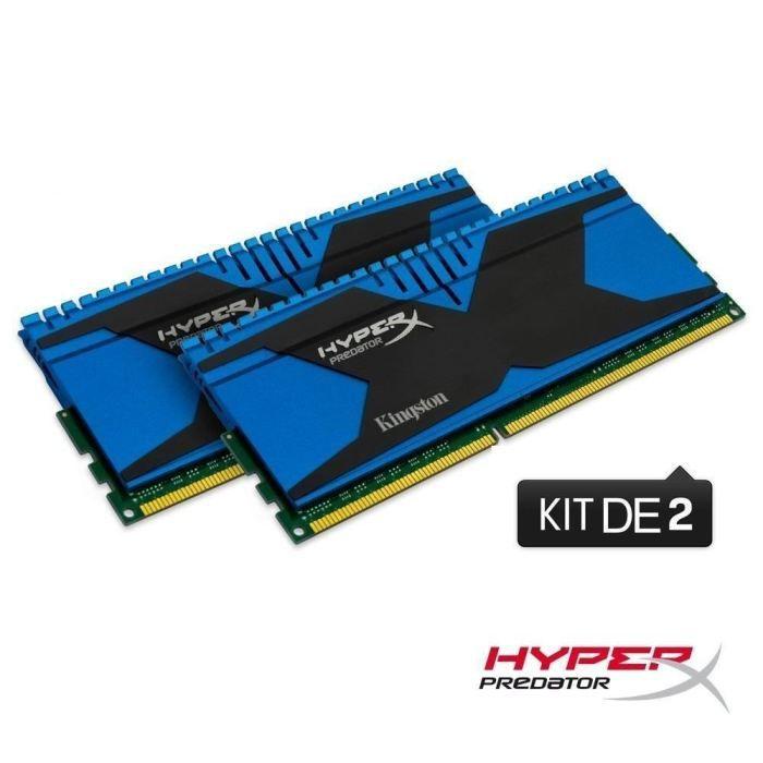 MÉMOIRE RAM Kingston 16Go DDR3 HyperX Predator 2133MHz CL11