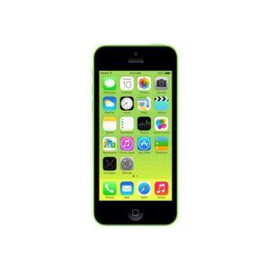 SMARTPHONE IPHONE 5C 16 GO VERT 4G + FILM ET COQUE OFFERT