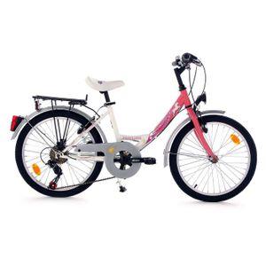 VÉLO ENFANT Vélo enfant 20' Fabulous rose TC 33 cm KS Cycling