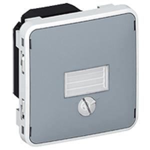 Interrupteur cr pusculaire 1400w plexo gris achat for Interrupteur exterieur legrand