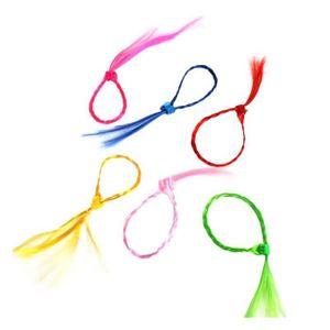 ACCESSOIRE DÉGUISEMENT Meche avec clip pour cheveux coloris assortis (48)