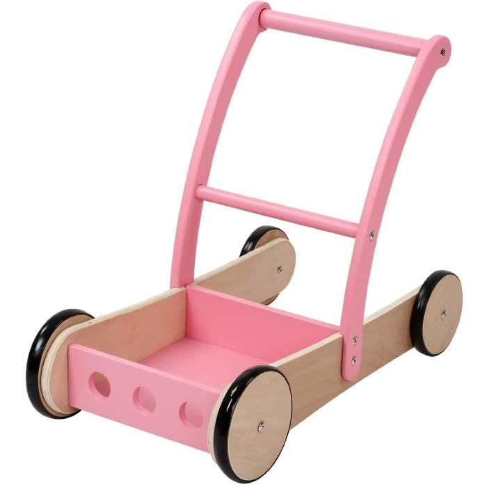 chariot de marche jouet pour b b enfants jouet 1 an. Black Bedroom Furniture Sets. Home Design Ideas