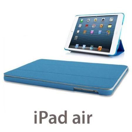 Housse ipad air bleu premium wipy coque ipad air prix for Prix housse ipad