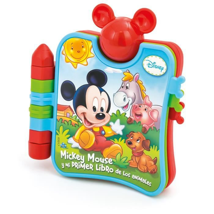 le petit livre musical b b mickey achat vente livre d. Black Bedroom Furniture Sets. Home Design Ideas
