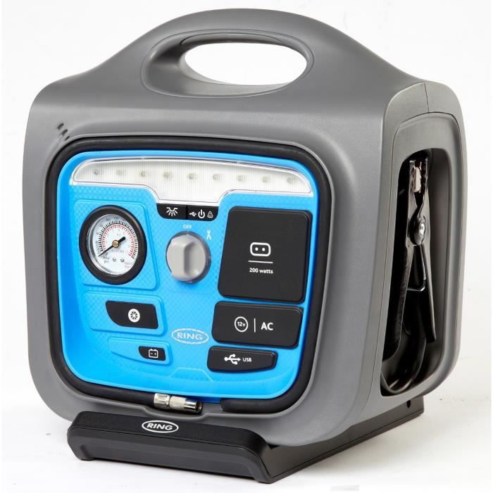 ring booster station de charge 650 amp res 12v achat vente station de demarrage booster. Black Bedroom Furniture Sets. Home Design Ideas