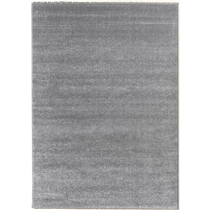 verso tapis de salon gris 120x170 cm achat vente tapis cdiscount. Black Bedroom Furniture Sets. Home Design Ideas