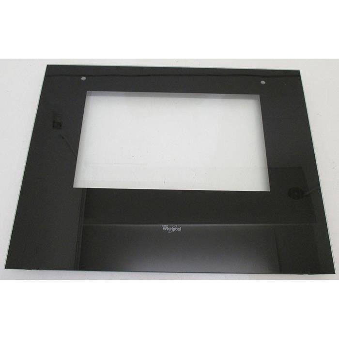 vitre exterieur pour four whirlpool 858528029000 achat vente pi ce appareil cuisson. Black Bedroom Furniture Sets. Home Design Ideas