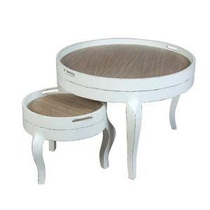 Set de table rond blanc achat vente set de table rond for Set de table rond blanc