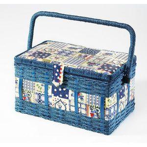 BOITE A COUTURE Coffret à ouvrage - boîte à couture - avec compart