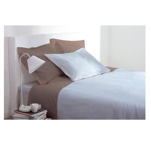 housse de couette 240 x 260 cm bleu ciel achat. Black Bedroom Furniture Sets. Home Design Ideas