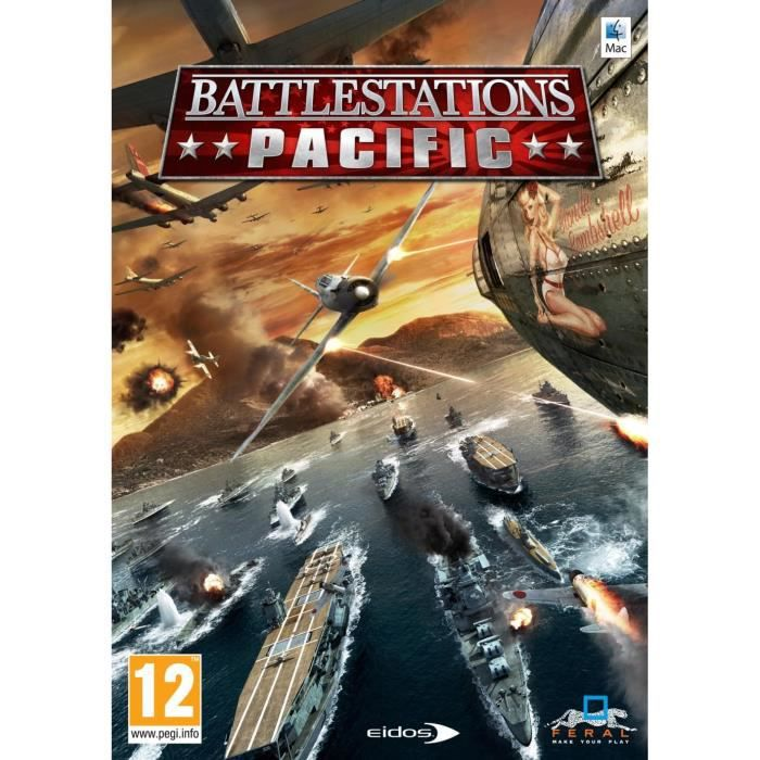 JEU PC Battlestations : Pacific [import allemand]