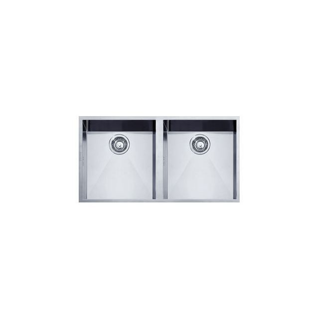 Eviers double cuves franke planar inox ppx120 achat - Robinetterie cuisine franke ...