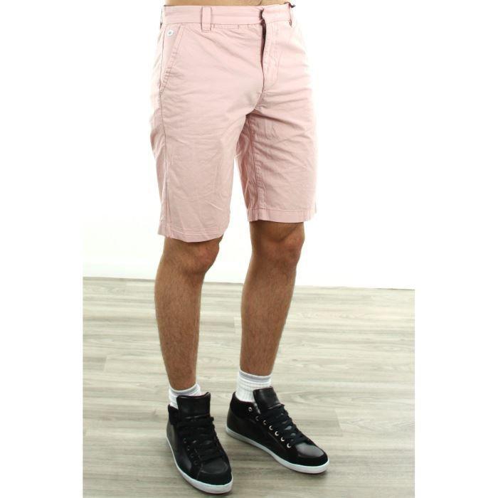 short pepe jeans homme pm800058 rose achat vente short short pepe jeans homme pm80. Black Bedroom Furniture Sets. Home Design Ideas
